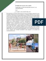 Informe de Salida de Campo Gestion Ambiental Final