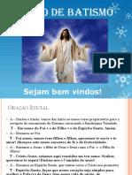 Preparação de Pais e Padrinhos - Pastoral Do Batismo