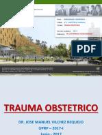 Trauma Obstetrico Vilchez 2017 I v.7