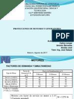 Presentación Expo Protecciones Lista