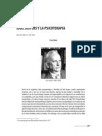 Karl Jasper y La Psicoterapia