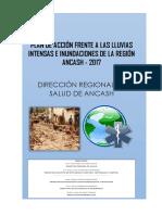 Plan de Acción Frente a Las Lluvias Intensas e Inundaciones de La Región Ancash 2017