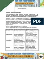 Actividad de aprendizaje 2  -Valores organizacionales