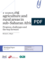 Financing Agriculture