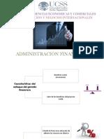 administracion financiera mapas