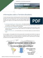Informações Sobre o Território Brasileiro _ Monolito Nimbus