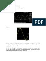 Ejercicios de Aplicación Del Osciloscopio