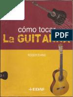 Como tocar guitarra por roger evans