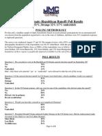 Alabama Senate Republican Executive Summary Runoff Poll 1