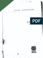 Anatoly Lunacharsky - Sobre La Literatura y El-Arte