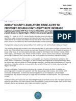 Albany County Legislators, AARP New York, Public Utility Law Project discuss proposed utility rate increase