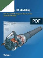 Mastering 3D Modeling eBook