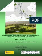 José Ramón Navarro Vera_Agua y Territorio. Estudio Sobre El Impacto Territorial de Los Campos de Golf y Operaciones Asociadas en El Levante Español