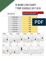 nw junior test prep calendar