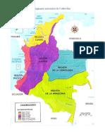 Regiones de Colombiaa