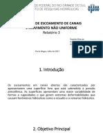 Apresentação Relatório 3 Hidráuica