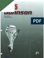 Johnson 9.9- 15HP 4 Stroke 2005 Service Manual 2995