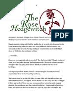 The Rose Hedgewitch by Terah Edun
