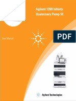 1260 Infinity Quaternary Pump Vl User Manual
