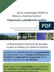 Aplicación de la metodología ROAM en México y América Central