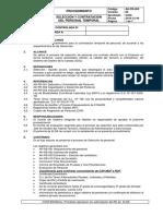 AH-PR-003 Selec y Contrat de Personal Temporal