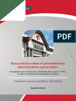 Guía Práctica Procedimiento Administrativo Sancionador. 2 Ed. Minjus.jun.2017
