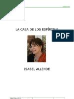 La Casa de Los Espiritus Allende