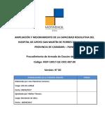 MEP-10917-QC-DOC-007.00 Procedimiento Armado de Dossier de Calidad Rev 00