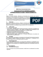 Directiva Del Proceso de Rendimiento Academico 2016-i (1)