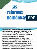 Las reformas borbóricas