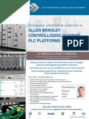 Allen Bradley Controllogix/Logix5000 Plc Platforms