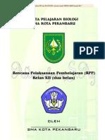 RPP BIOLOGI F4 pertemuan KELAS XII RAHMAN