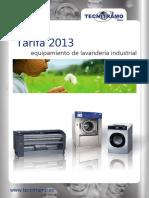 TARIFA TECNITRAMO 2013-Labadora Industrial