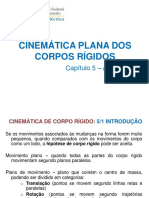17 - Cap v - Cinemática Plana Dos Corpos Rígidos