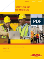 2  dhl - user guide for importers - sample
