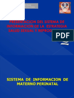 Sistema de Informacion Mp-2011
