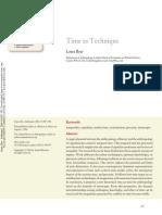 Time as Technique