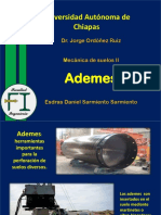 Ademes - Mecánica de Suelos
