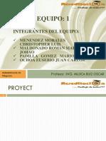 Acrditacion - Falta Proyect