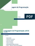 FATEC ADS 2 LP 01 Apostila Linguagem de Programação Java