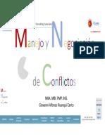 Manejo y Negociación de Conflictos Oxford Group Giovanni Alfonso Huanqui Canto