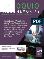 Coloquio Videomemorias