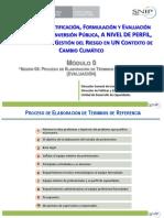 ELABORACIÓN DE TÉRMINOS DE REFERENCIA