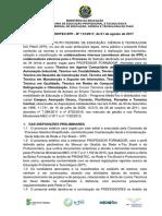 Edital Mediotec Ifpi No 112 2017 Professores Mediotec Vagas Remanescentes