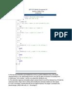 ECE 101 Matlab Assignment 3