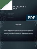 Modelos Cualitativos y Cuantitativos