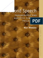 MIKKOLA, Mari. Beyond Speech Pornography and Analytic Feminist Philosophy