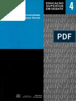 Docência Na Educação Superior. INEP. 2006. v.4.