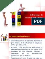 Estrategias grupales 1