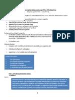 Information Literacy Module 1